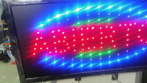 cartel led luminoso abierto ¡exclusivo¡¡ ¡ mira video real¡