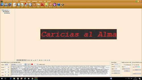cartel led pasante 1536 led programable