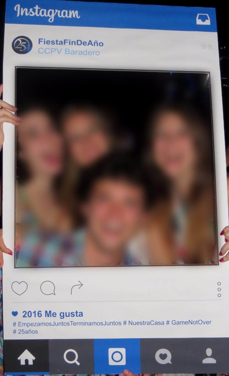 Cartel-marco Instagram Para Fotografiarse! Fiesta/casamiento - $ 800 ...