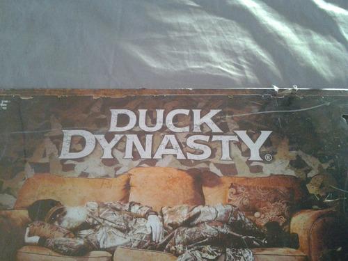 cartel metalico duck dinasty