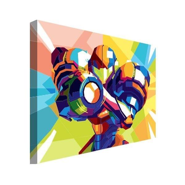 Cartel Metroid De Nes Nintendo Snes Wpap Pop Art... (20x30 ...