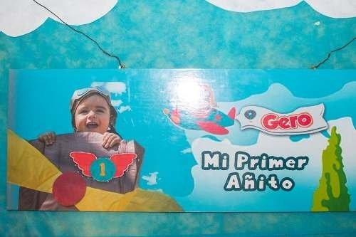 cartel  mural cumpleaños  personalizadas con foto .