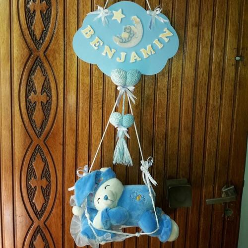 cartel nacimiento  sanatorios- peluche roncador-
