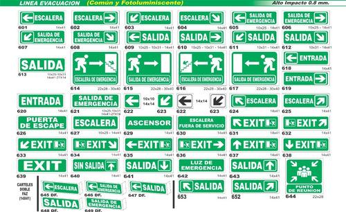 cartel nichos hidrantes 11x14 alto impacto oferta!!!