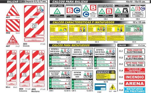 cartel nichos hidrantes 15x21 alto impacto oferta!!!