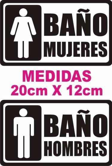 Bano letreros mujeresj - Carteles para banos ...