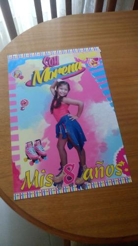 cartel  / poster decorativo personalizado con foto