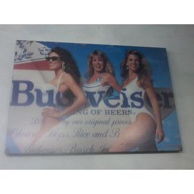 Cartel Publicitario De Budweisser
