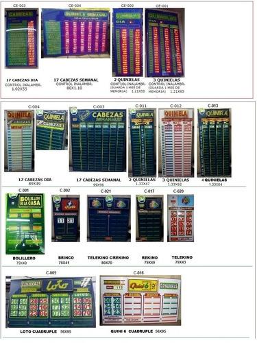 cartel quiniela plus agencias de provincia - congreso