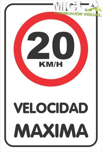cartel tipo vial estacionar solo motos en chapa n 16 galva.