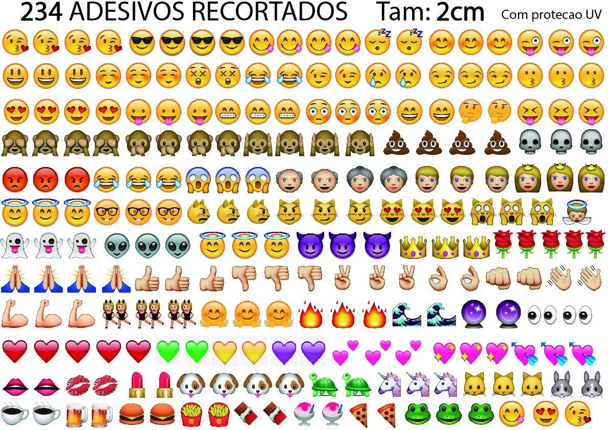 Artesanato Minas Gerais Comprar ~ Cartela 234 Adesivos Emoji Whatsapp 2cm Impressos No Vinyl R$ 14,99 em Mercado Livre