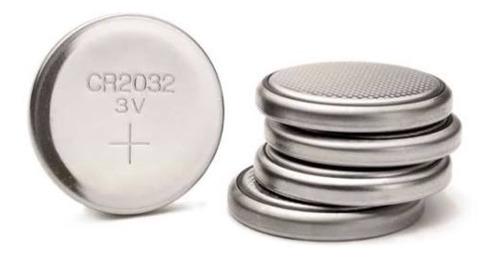 cartela 5 un bateria cr2032 lithium uso geral 3v tipo botão