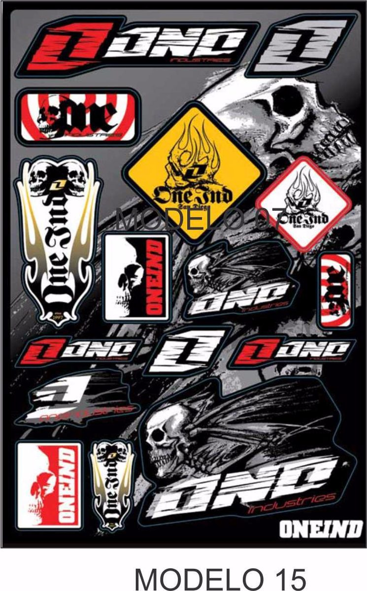 cartela adesivos moto gp motocross capacete carro. Carregando zoom. 09b4d80b3105d