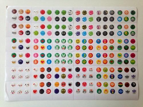cartela button stick 216 unidade - botão home iphone/ipad
