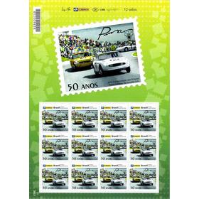 Cartela Completa Selos Comemorativos 50 Anos Puma Veículos