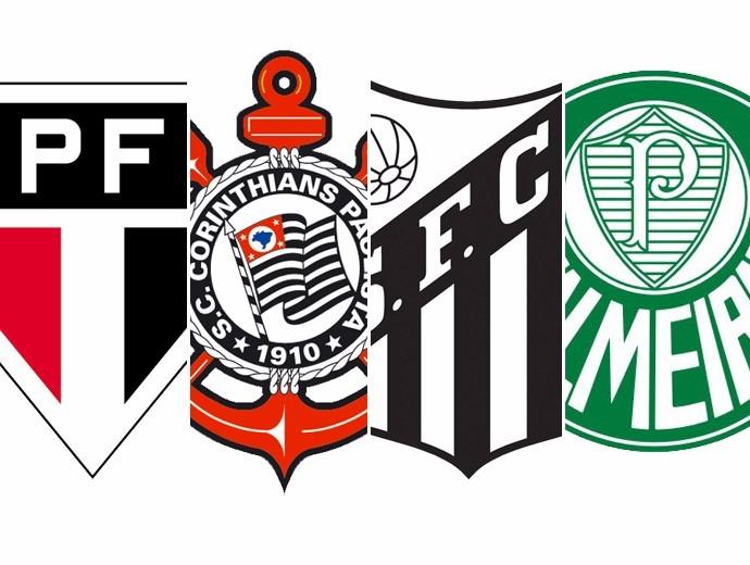 ea965b5494 Cartela De Adesivos Times De Futebol Brasileiro - R  9