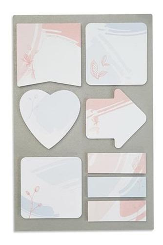 cartela de sticky notes la bela -  ótima gráfica
