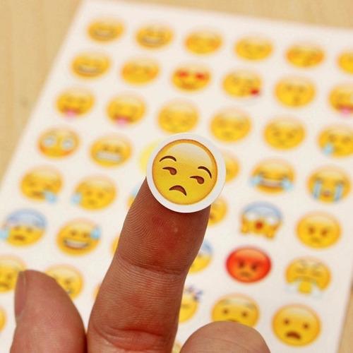 cartelas de adesivos emoji alto colante emoticon volta aulas