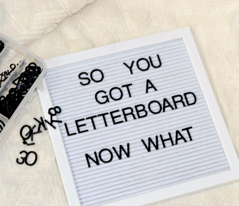 Cartelera Pizarra Letras Vintage Letter Board Con Pie