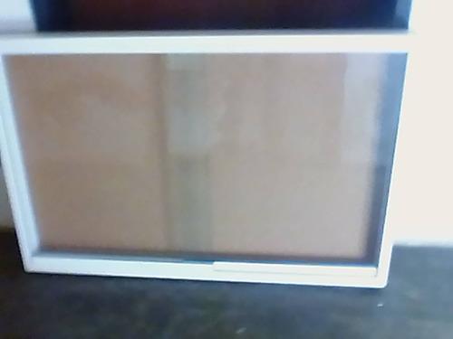 carteleras informativas  aluminio vidrio corcho y cerradura