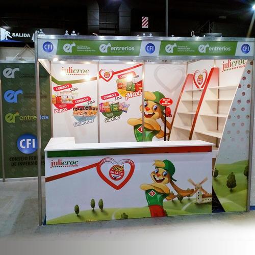 cartelería comercial  stand  decoracion de locales
