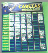 carteles agencias quiniela quini 6 loto ruleta laminas empor