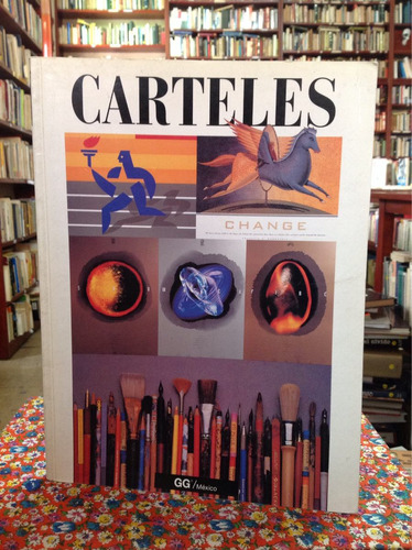 carteles. biblioteca de diseño