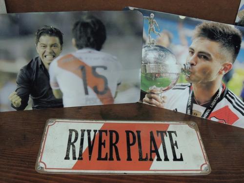 carteles de chapa river plate fotos posters láminas 15x20cm