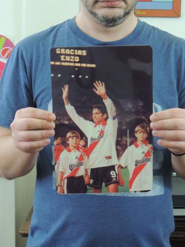 carteles de chapa river plate supercopa 1997 posters fotos
