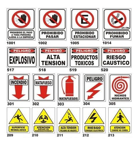 carteles de señalizacion industrial señalética