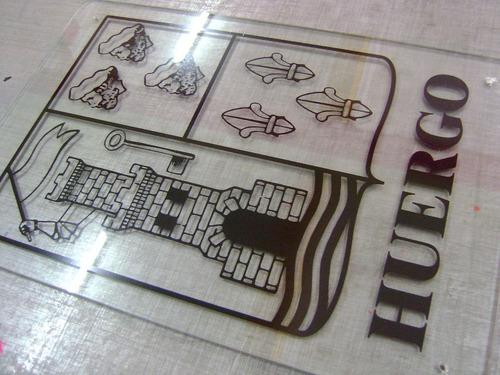 carteles de vidrio