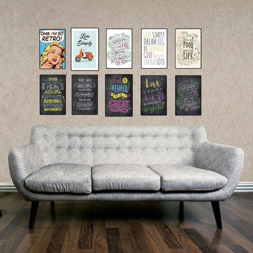 carteles decorativos cuadros