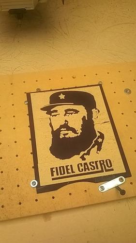 carteles en madera