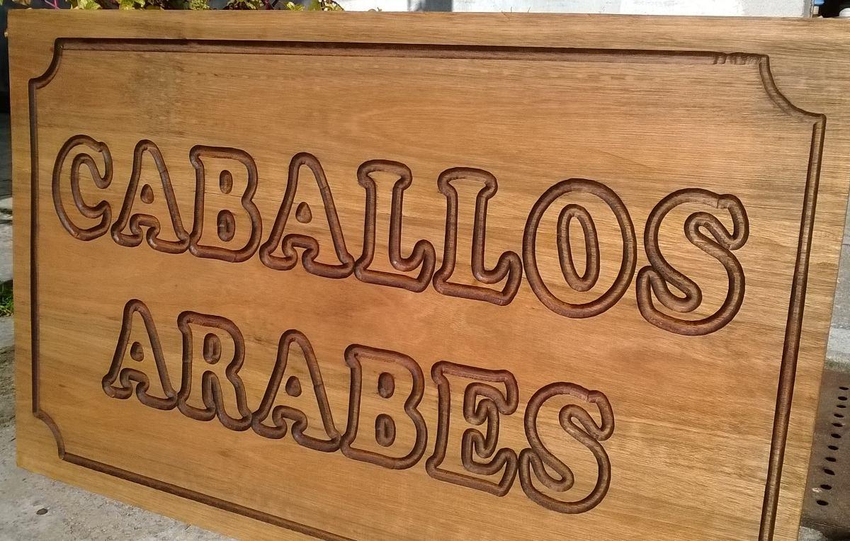 Carteles en madera para nombres de casas o indicadores - Casa letras madera ...