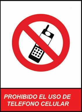 carteles vinilo advertencia prohibido letrero pvc