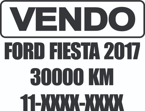 carteles vinilo autoadhesivo venta autos x3 plotter de corte