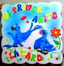 carteles y centros cumpleaos infantiles adornos souvenirs