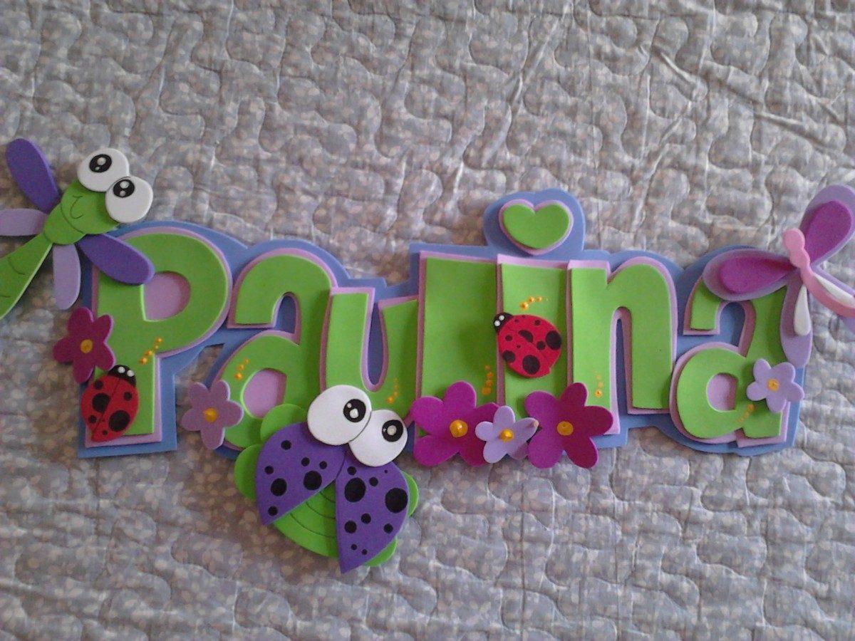 decoracion infantil goma eva