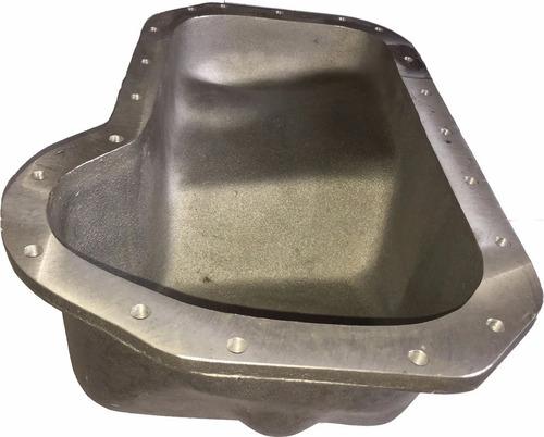 carter alumínio para chevette com motor vw ap base plainada