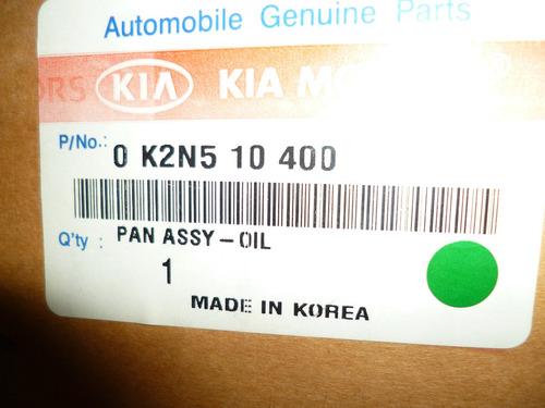 carter de aceite de motor de kia carens original
