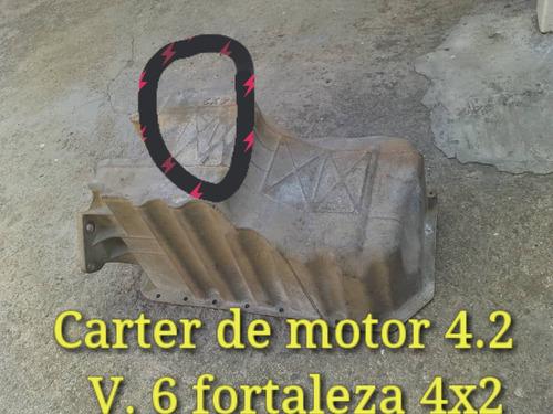 carter de motor 4.2 fortaleza  v6