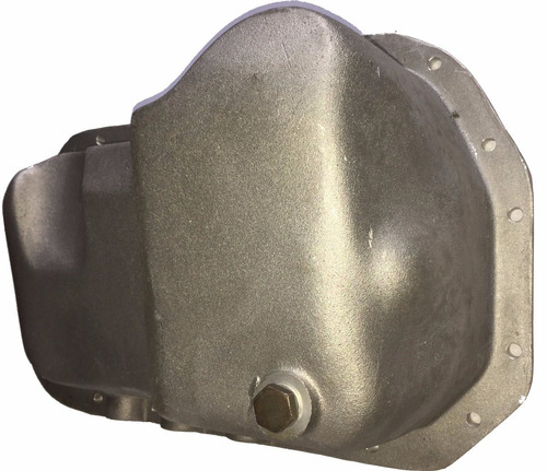 carter em alumínio p/ chevette c/ motor vw ap base plainada