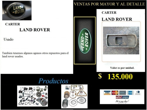 carter land rover