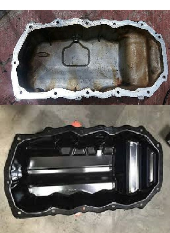 Carter Motor Original Stratus Reemplazo Carter Aluminio