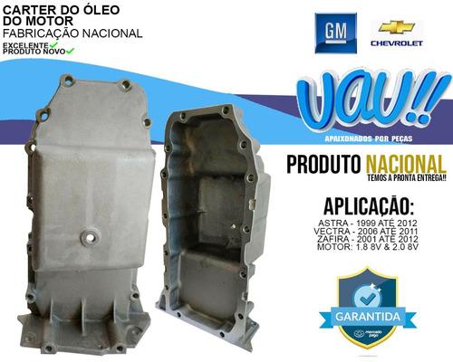 carter óleo motor gm/ astra/ vectra 1.8/2.0 8v/ zafira 2011
