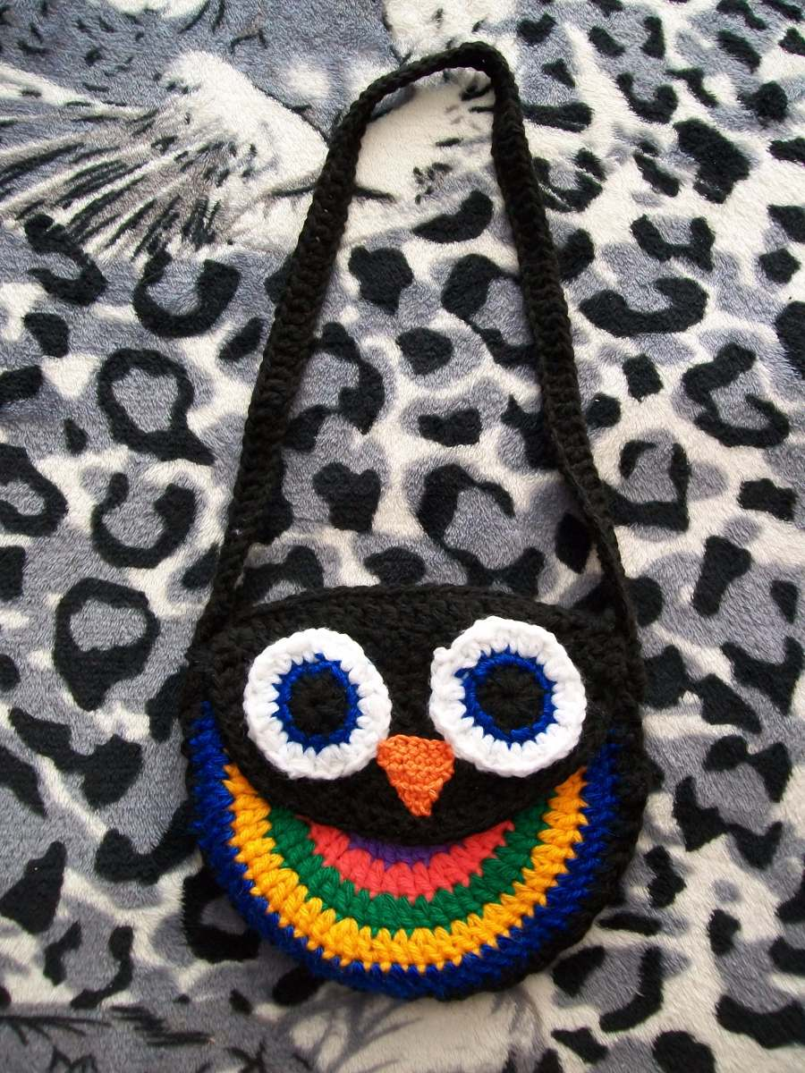 Hermosa Crochet Modelo Del Búho Capullo Patrón - Manta de Tejer ...