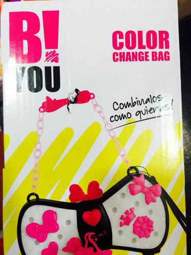 cartera b! you luminosa intek cambia de color