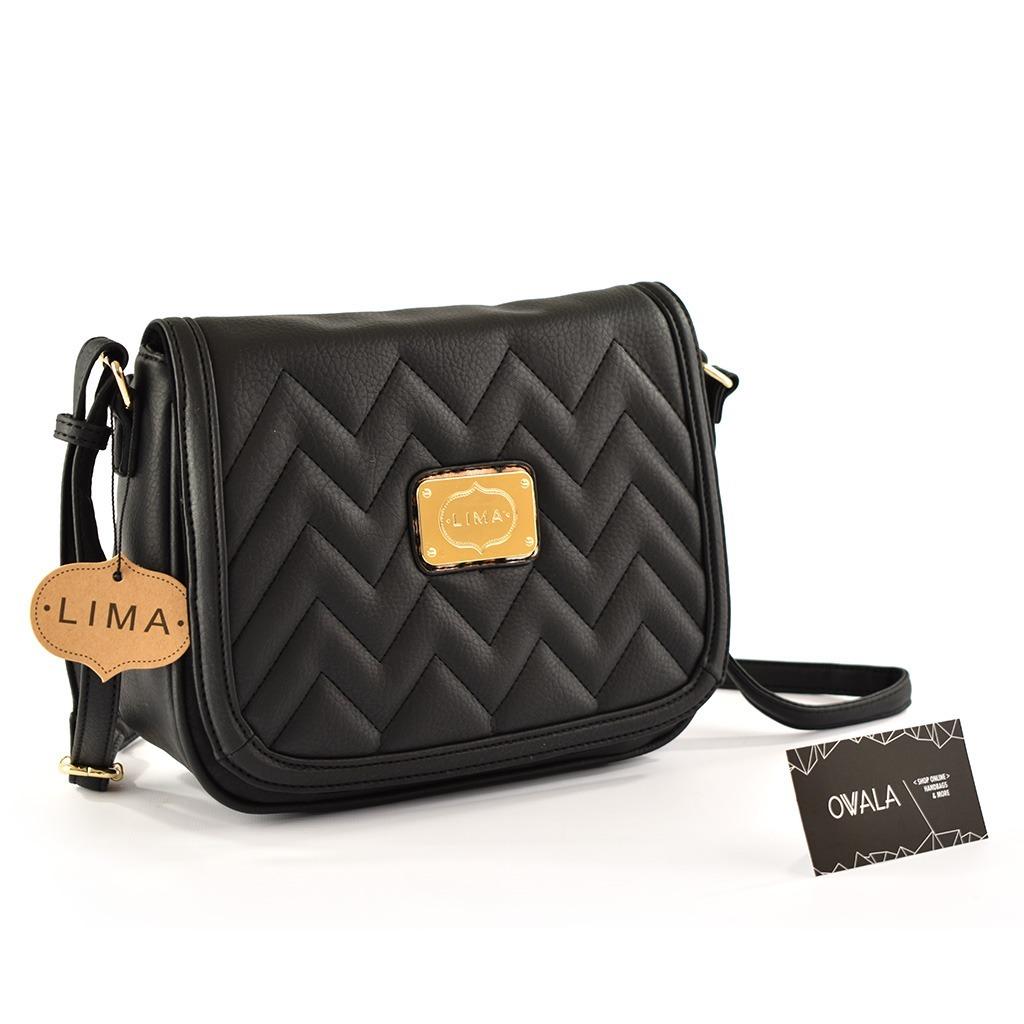 766ea99ae Cartera Bandolera Cuero Sintético Negra By Owala Handbags - $ 1.450 ...