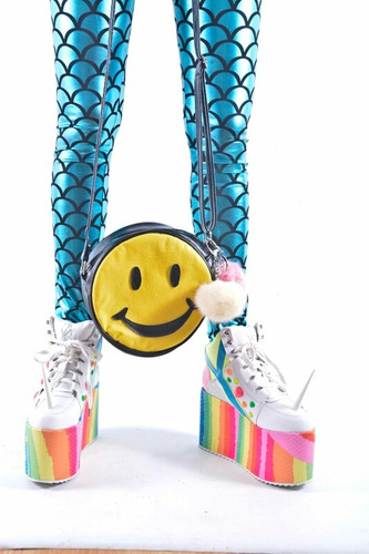 cartera bandolera emoticon smile carita