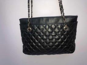 183fee577ebcab Cartera Tipo Chanel - Carteras Negro en Mercado Libre Argentina